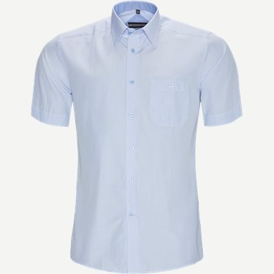 Jordi Kortærmet Skjorte Regular | Jordi Kortærmet Skjorte | Blå
